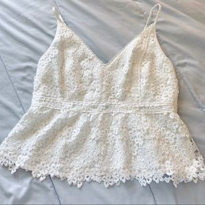 Abercrombie & Fitch Lace Cami Top